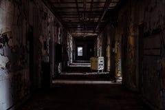 Willard Asylum para o insano/hospital do Estado - Willard, New York imagem de stock