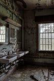 Willard Asylum pour l'aliéné/hôpital d'État - Willard, New York Images libres de droits