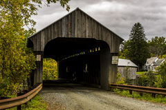 Willard Covered Bridges - North Hartland, Vermont Stock Photo