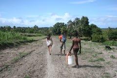 Willekeurig in Haïti stock fotografie