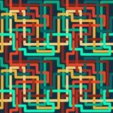 Willekeurig kleurenpatroon royalty-vrije illustratie