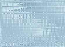Willekeurige Aqua Line Shaped Abstract voor Achtergronden Royalty-vrije Stock Foto's