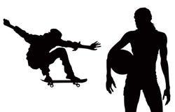 Willekeurige sporten Vector Illustratie