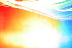 Willekeurige stroken van licht Stock Afbeelding