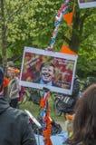Willem Alexander στο Vondelpark σε Kingsday Άμστερνταμ οι Κάτω Χώρες 2018 Στοκ Φωτογραφία