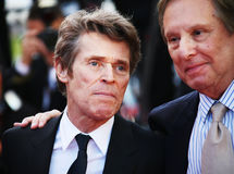 Willem Defoe, William Friedkin Stock Foto