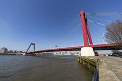 Willems bridge Royalty Free Stock Photo
