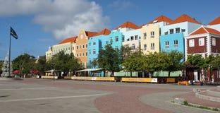 Willemstad, Curaçao, îles d'ABC photographie stock