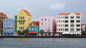 Willemstad, Curaçao, îles d'ABC photographie stock