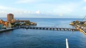Willemstad, Curaçao stock footage
