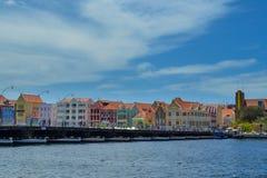Willemstad Curacao Arkivbild