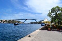 Willemstad Curacao Royaltyfri Fotografi