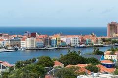 Willemstad, Curacao, ABC wyspy obraz stock