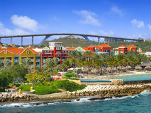 Willemstad in Curacao Royalty Free Stock Photo