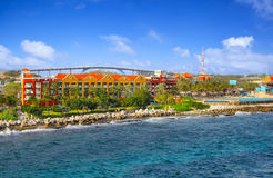 Willemstad in Curacao Stock Image