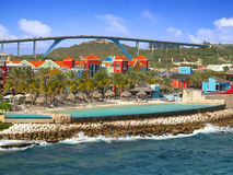 Willemstad in Curacao Stock Photography