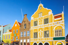 Willemstad, Curacao. Architecture details of the colonial houses in Willemstad. Curacao, Netherlands Antilles stock images