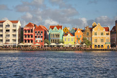 Willemstad in Curacao Stock Photos