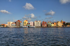 Willemstad in Curacao Stock Photo