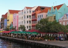 Willemstad, Curacao, holandie Antilles, Luty 2008 fotografia stock