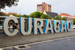 Willemstad, Curacao, isole di ABC immagini stock