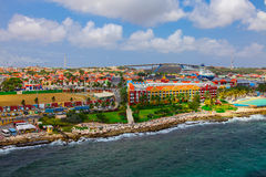 Willemstad, Curasao stockbilder