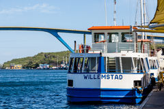 Willemstad Ferry Stock Images