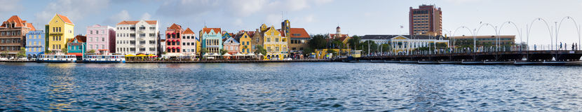 Willemstad Stadtbild Lizenzfreies Stockbild