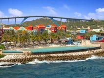 Willemstad w Curacao Fotografia Stock