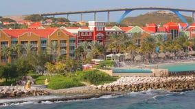 Willemstad w Curacao zbiory wideo