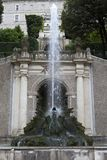 Willi d «Este16th-century fontanna i ogród, Tivoli, Włochy Unesco Światowego Dziedzictwa Miejsce zdjęcie royalty free