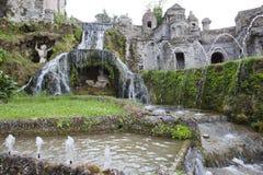 Willi d «Este16th-century fontanna i ogród, Tivoli, Włochy Unesco Światowego Dziedzictwa Miejsce fotografia royalty free