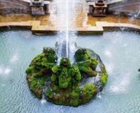 Willi d «Este wyjątkowy fontanna ogród zdjęcia stock