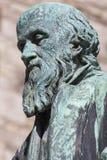 William Barnes Statue in Dorchester Stock Image