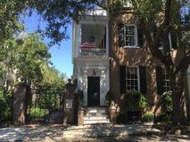 The William C. Bee House, Charleston, SC Royalty Free Stock Photo