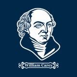William Carey protestantisme Chefs de la réforme européenne illustration libre de droits