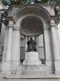 William Cullen Bryant Monument In New York.