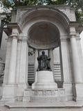 William Cullen Bryant Monument in New York royalty-vrije stock foto's