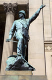 William Earle Statue in Liverpool Stock Images