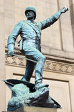 William Earle Statue in Liverpool Stock Photos