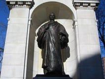William Ellery Channing Statue ; Jardin public de Boston, Boston, le Massachusetts, Etats-Unis Image stock