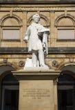 William Etty Statue y la York Art Gallery Fotos de archivo