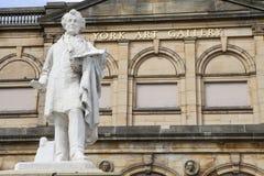 William Etty Statue y York Art Gallery Foto de archivo