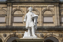 William Etty Statue at the York Art Gallery Royalty Free Stock Photography
