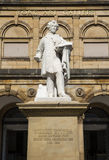 William Etty Statue and the York Art Gallery Stock Photos