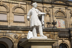 William Etty Statue and the York Art Gallery Stock Image
