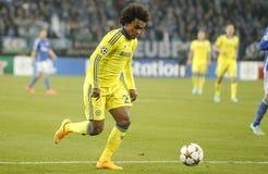 William FC Schalke v FC Chelsea 8eme Final Champion League Stock Images