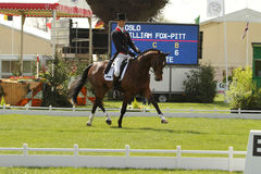 William Fox-Pitt em Oslo no badminton Imagem de Stock