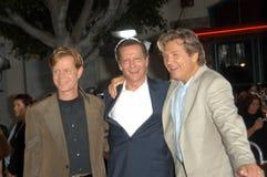 William H. Macy, Chris-Fassbinder, Jeff Bridges, William H Macy lizenzfreies stockbild
