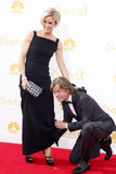 William H. Macy and Felicity Huffman Royalty Free Stock Images